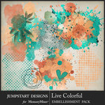 Live Colorful Accents Pack-$2.80 (Jumpstart Designs)