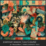 Live Colorful Combo Pack-$7.99 (Jumpstart Designs)