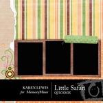 Little Safari QuickMix-$4.99 (Karen Lewis)