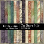 The Extra Mile Patterned Paper Pack-$3.99 (Fayette Designs)