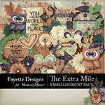 The Extra Mile Embellishment Pack-$2.80 (Fayette Designs)