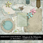 Magical and Majestic Journal Pack-$2.99 (Laura Burger)