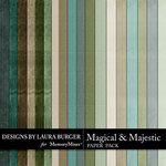 Magical and Majestic Paper Pack-$2.99 (Laura Burger)