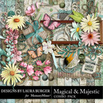 Magical and Majestic Combo Pack-$6.99 (Laura Burger)