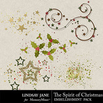 The Spirit of Christmas Scatterz Pack-$1.99 (Lindsay Jane)