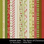 The Spirit of Christmas Paper Pack-$2.49 (Lindsay Jane)