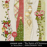 The Spirit of Christmas Borders Pack-$1.99 (Lindsay Jane)