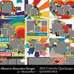 2016 Calendar QuickPage QuickMix-$5.99 (Albums to Remember)