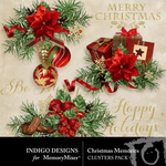 Christmas Memories ID Cluster Pack-$3.49 (Indigo Designs)