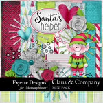 Claus and Company Mini Pack-$3.99 (Fayette Designs)