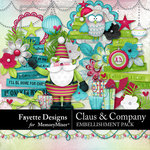 Claus and Company Embellishment Pack-$4.99 (Fayette Designs)