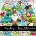 Claus and Company Combo Pack-$8.99 (Fayette Designs)