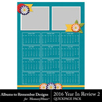 2016 Year in Review QuickPage 2-$2.99 (Albums to Remember)