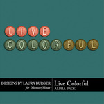 Live Colorful LB Alphabet Pack-$2.99 (Laura Burger)
