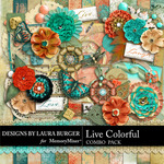 Live Colorful LB Combo Pack-$6.49 (Laura Burger)
