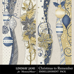 Christmas to Remember LJ Borders Pack-$1.99 (Lindsay Jane)