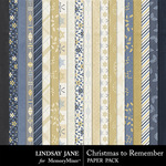 Christmas to Remember LJ Paper Pack-$2.49 (Lindsay Jane)
