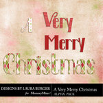 A Very Merry Christmas Alphabet Pack-$3.99 (Laura Burger)
