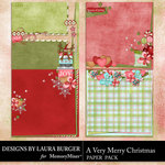 A Very Merry Christmas Stacked Papers-$1.99 (Laura Burger)