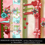 A Very Merry Christmas Borders Pack-$4.99 (Laura Burger)