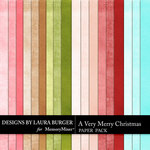 A Very Merry Christmas Solid Papers-$2.99 (Laura Burger)