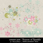 Season of Sparkle Scatterz Pack-$1.99 (Lindsay Jane)