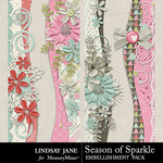 Season of Sparkle Borders Pack-$1.99 (Lindsay Jane)