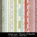 Season of Sparkle Paper Pack-$2.49 (Lindsay Jane)
