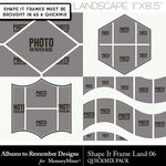 Shape It Frames 06 Landscape-$3.49 (Albums to Remember)