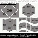 Shape It Frames 06 Landscape-$3.49 (Albums to Remember)