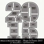 Shape It Frame 2015-$1.99 (Albums to Remember)