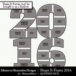 Shape It Frame 2016-$1.99 (Albums to Remember)