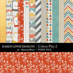 Colour Play Paper Pack 2-$3.99 (Karen Lewis)