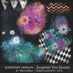 Jumpstart Your January Accent Pack-$3.99 (Jumpstart Designs)