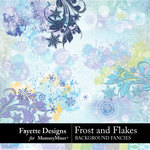 Frost and Flakes Background Fancies-$3.99 (Fayette Designs)