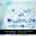 Frost and Flakes Border Pack-$3.99 (Fayette Designs)