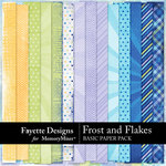 Frost and Flakes Basic Paper Pack-$3.99 (Fayette Designs)