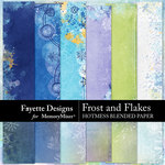 Frost and Flakes Hotmess Blended Paper-$3.99 (Fayette Designs)