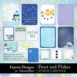 Frost and Flakes Journal Cards-$3.99 (Fayette Designs)