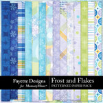 Frost and Flakes Patterned Paper Pack-$4.49 (Fayette Designs)