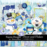 Frost and Flakes Combo Pack-$8.99 (Fayette Designs)