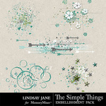 The Simple Things Scatterz Pack-$1.99 (Lindsay Jane)