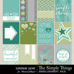 The Simple Things Journal Cards-$1.99 (Lindsay Jane)