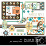 Paisley and Petals 2 Embellishment Pack-$3.00 (s.e.i)