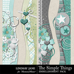 The Simple Things Border Pack-$1.99 (Lindsay Jane)