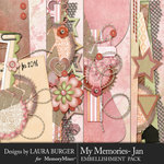 My Memories January Borders Pack-$4.99 (Laura Burger)