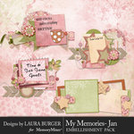 My Memories January Cluster Pack 1-$3.99 (Laura Burger)