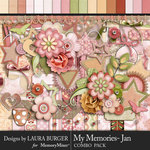 My Memories January Combo Pack-$7.99 (Laura Burger)
