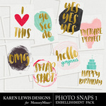 Photo Snaps Pack 1-$2.99 (Karen Lewis)
