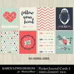 Pocket Cards Pack 1-$1.99 (Karen Lewis)
